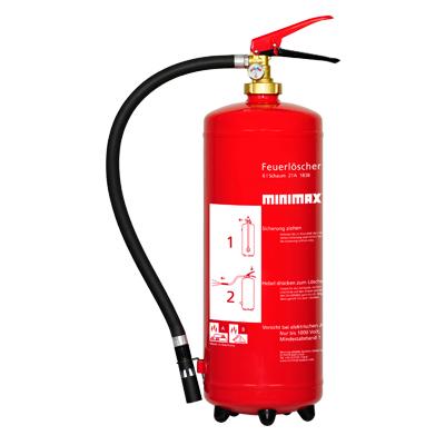Schaum-Dauerdruckfeuerlöscher