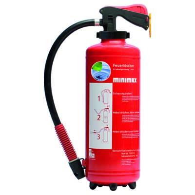 Wasser-Aufladefeuerlöscher