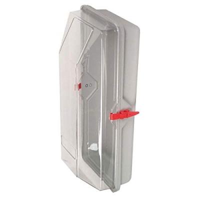 Schutzhaube, 6 kg, KU, transparentes Durchsichtfenster, m. Spannhebel