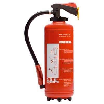 Pulver-Aufladefeuerlöscher PU 6 G (6 kg)