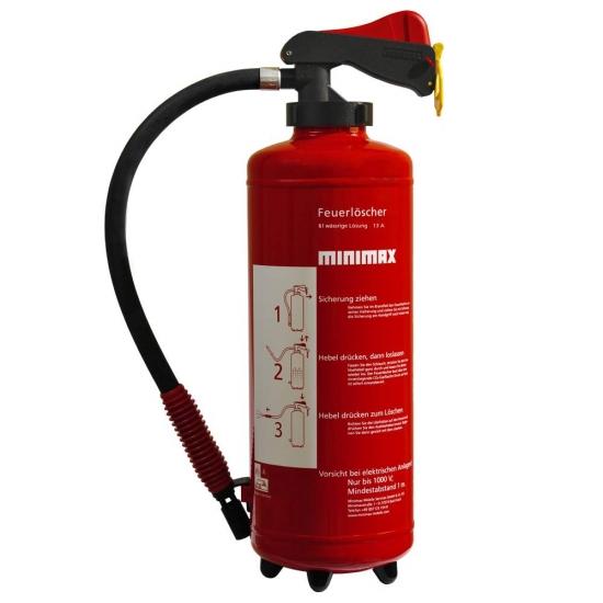 Wasser-Aufladefeuerlöscher 6 l