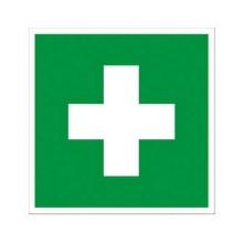 Schild Erste Hilfe, FO/NL, 148x148mm