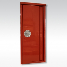FL-Schutzschrank rot 6-12kg, plomb.