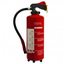 Super Pulver-Aufladefeuerlöscher 6 kg - Minimax Shop VV88
